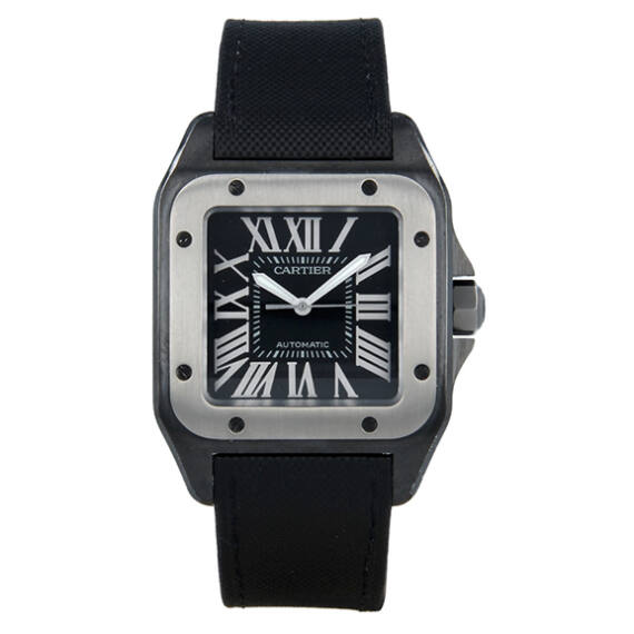 Cartier Santos 100 XL Steel - Mondani Web