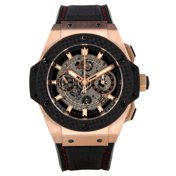 Hublot King Power Unico Rose Gold - Mondani Web