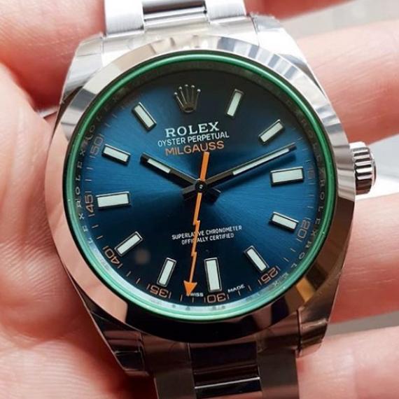Rolex Milgauss Z-Blue Dial Ref. 116400GV - Mondani Web