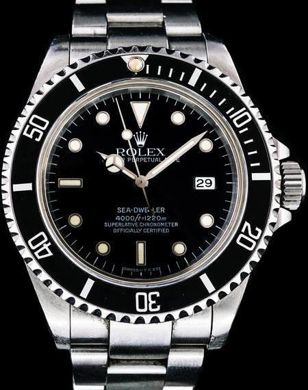 1991 Rolex Sea-Dweller (Ref. 16600) - Mondani Web