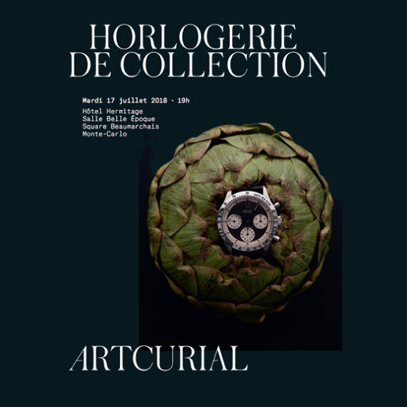 Horlogerie de Collection auction by Artcurial auctioneer partner of Mondani Web | July 17