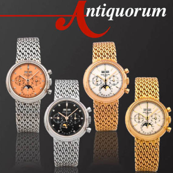 Important Modern & Vintage Timepieces by Antiquorum Auctioneer partner of Mondani Web | Hong Kong