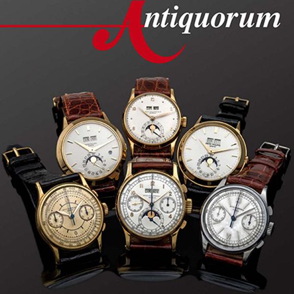 Important Modern & Vintage Timepieces Auction by Antiquorum - MondaniWeb