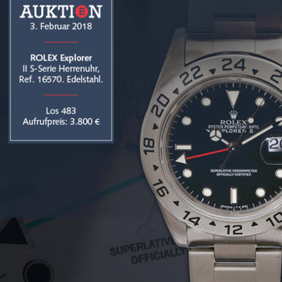 Schmuck, Uhren, Porzellan, Silber, Luxus-accessories Auction by Eppli Auctioneer partner of Mondani Web | February 3