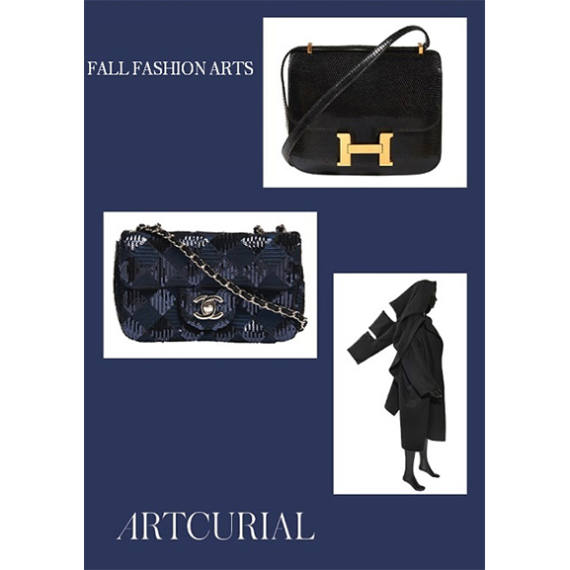 Fall Fashion Arts Auction by Artcurial Auctioneer partner of Mondani Web | November 20