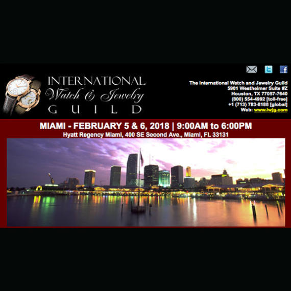The newx IWJG show will take place in Miami in February. | Follow the event with Mondani Web - Mondani Web