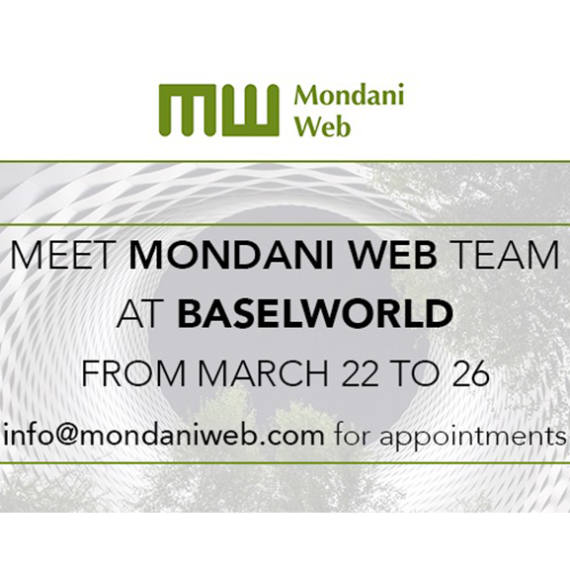 Meet Mondani at Baselworld: Giorgia Mondani will attend the Baselworld Show | Mondani Web - Mondani Web