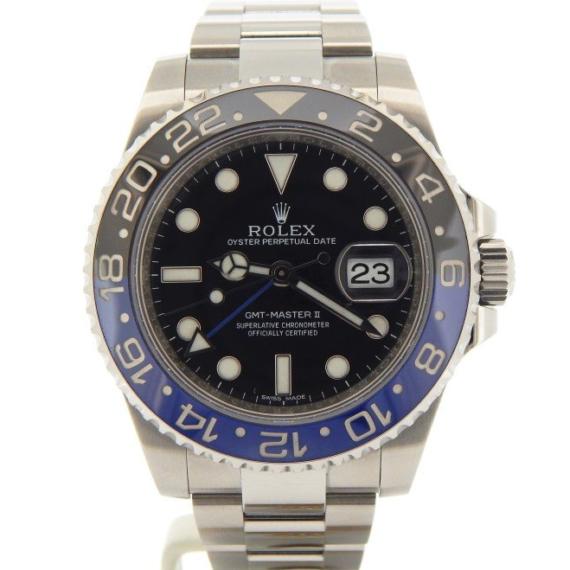 Rolex GMT-Master II Date Watch Ref. 116710 BLNR - Mondani Web