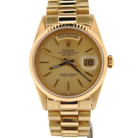Rolex Gold Day-Date President Watch Ref. 18238 - Mondani Web