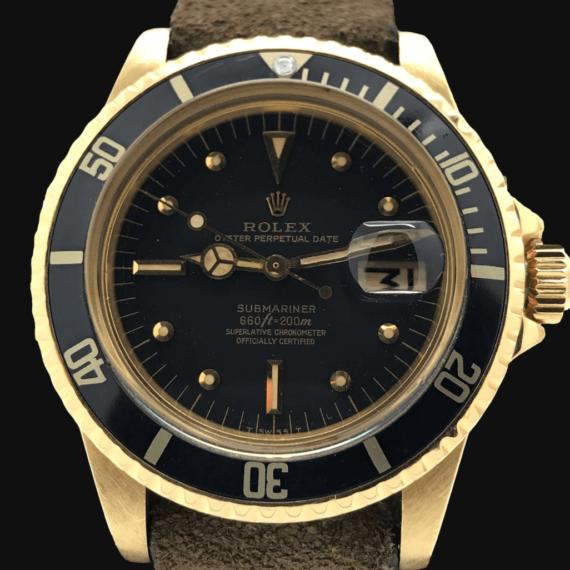Rolex Submariner REf.680:8 Yellow Gold - Mondani Web