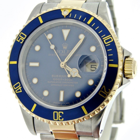 Rolex Submariner Watch Ref. 16613 - Mondani Web