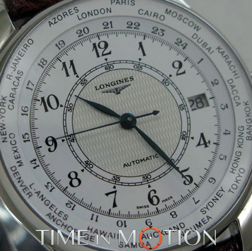 Longines World Time Cal 635 Serie Special 1998 - Mondani Web
