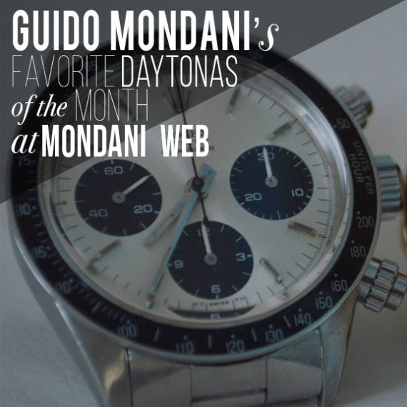 Guido Mondani's Favorite Daytonas of the Month at Mondani Web Marketplace - Mondani Web