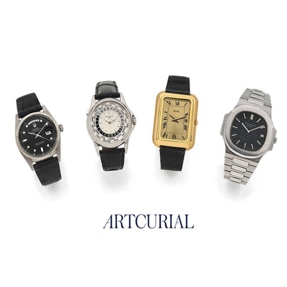 Fine Watches auction by Artcurial Auctioneer partner of Mondani Web | July 17