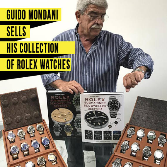 Guido Mondani Sells his Collection of Rolex Watches | Find al his watches for sale at our marketplace - Mondani Web