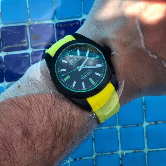 20mm yellow rubber strap - Mondani Web