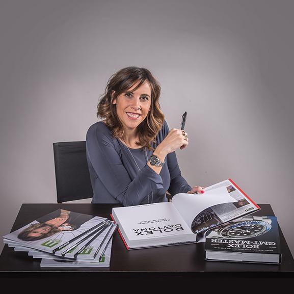 Giorgia Mondani will sign Mondani books at Baselworld - MondaniWeb