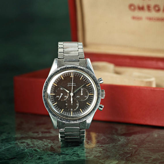 Bukowskis is selling an Omega Speedmaster 2915-3 after 40 years in a drawer. | Mondani Web - Mondani Web