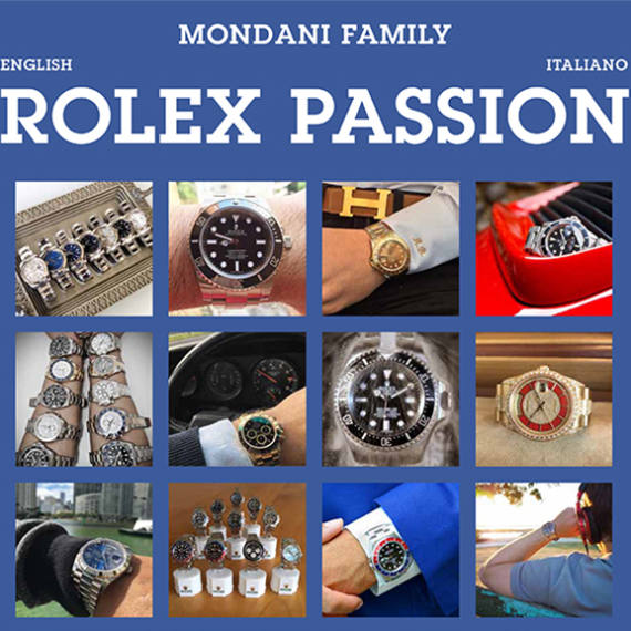 "The new book by Mondani Editore ""Rolex Passion"" will be launched in August 2017 - Mondani Web"