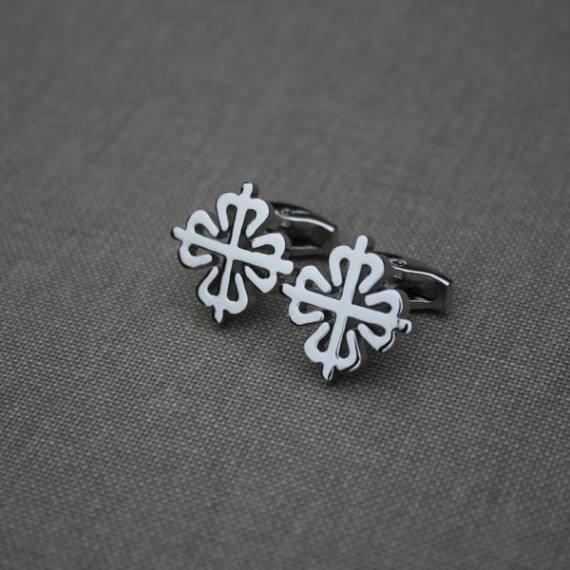 Calatrava cross cufflinks - Mondani Web
