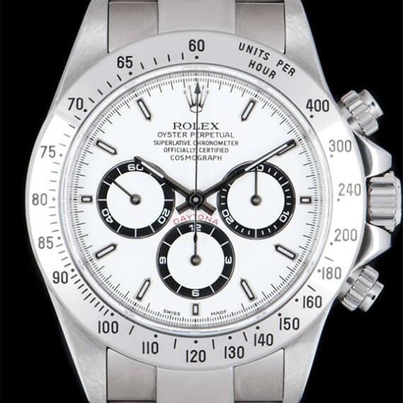Rolex Daytona Ref. 16520 White Dial - Mondani Web
