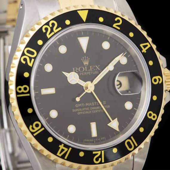 Rolex GMT-Master II Ref. 16713 Steel & Gold - Mondani Web