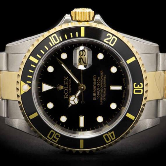 Rolex Submariner Ref. 16613 Steel & Gold - Mondani Web