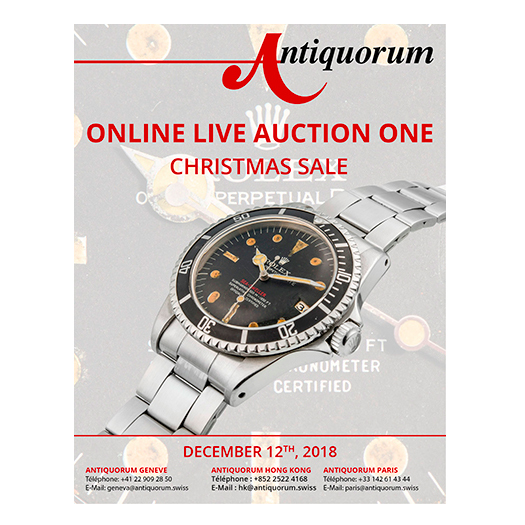 Antiquorum online Christmas Auction - MondaniWeb