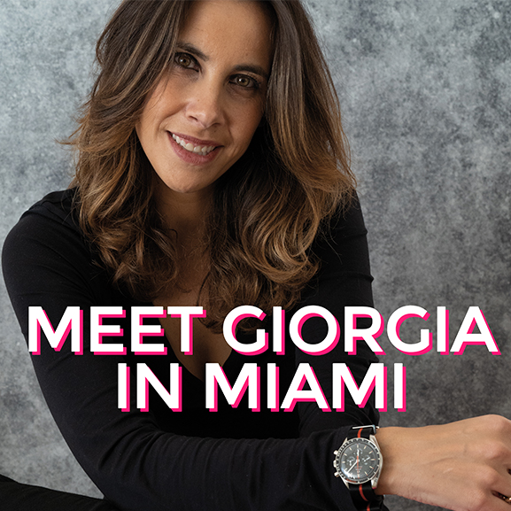 Giorgia Mondani will be in Miami - MondaniWeb