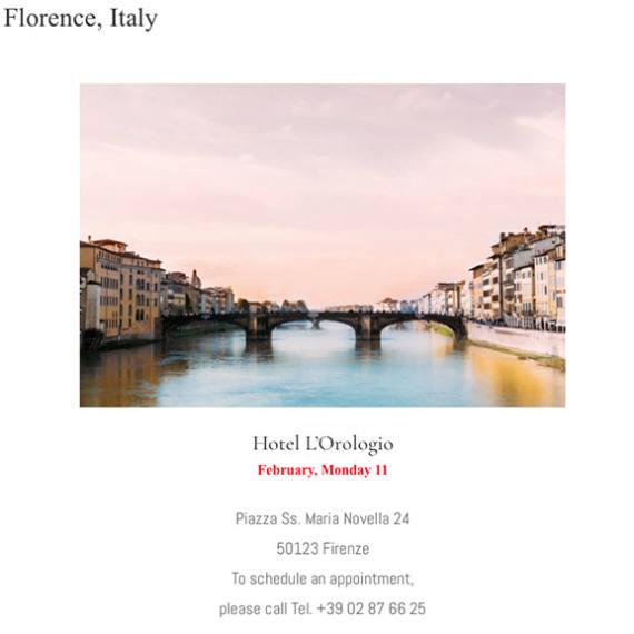 Florence, Italy - Mondani Web