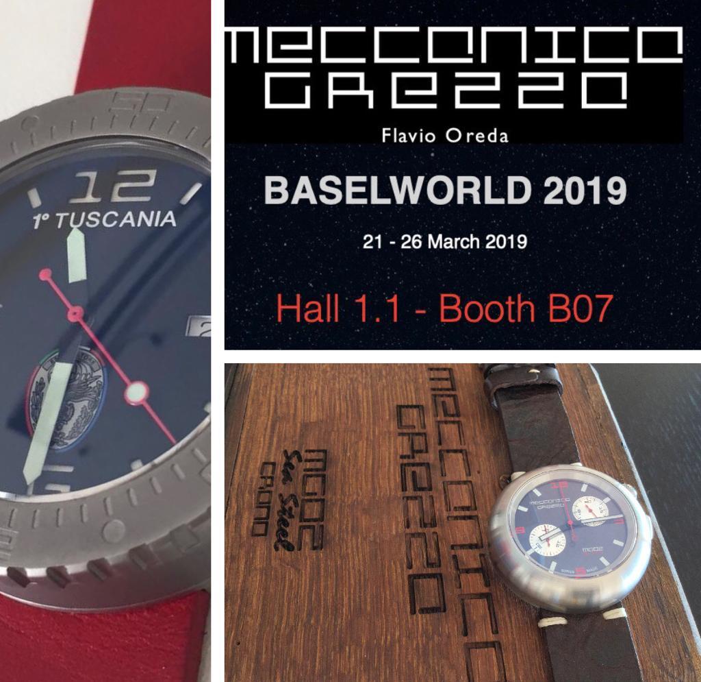 Meccanica Grezza in Baselworld 2019!!! - MondaniWeb