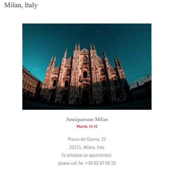 Milan, Italy - Mondani Web