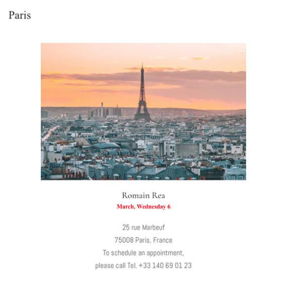 Paris, France - Mondani Web