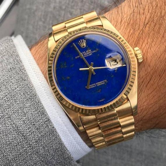 Rolex Datejust Ref. 1601 LapisDial - Mondani Web