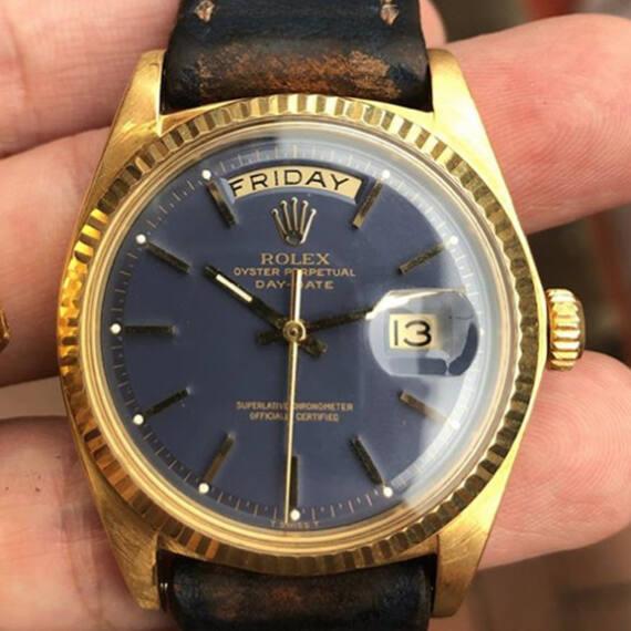 Rolex Day-Date REf. 1803 Blue Dial - Mondani Web