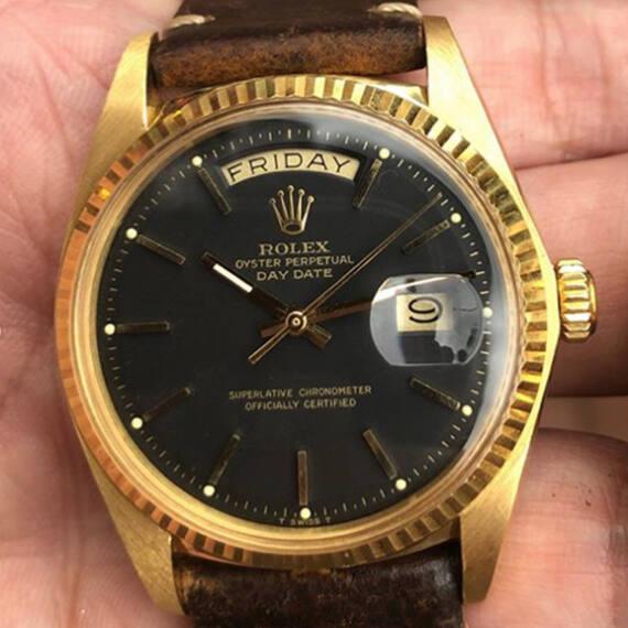 Rolex Day-Date Ref.1803 Black Dial - Mondani Web