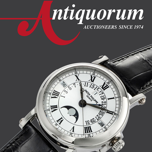 Antiquorum Online  Live Auction Two, Important Modern & Vintage Timepieces - MondaniWeb