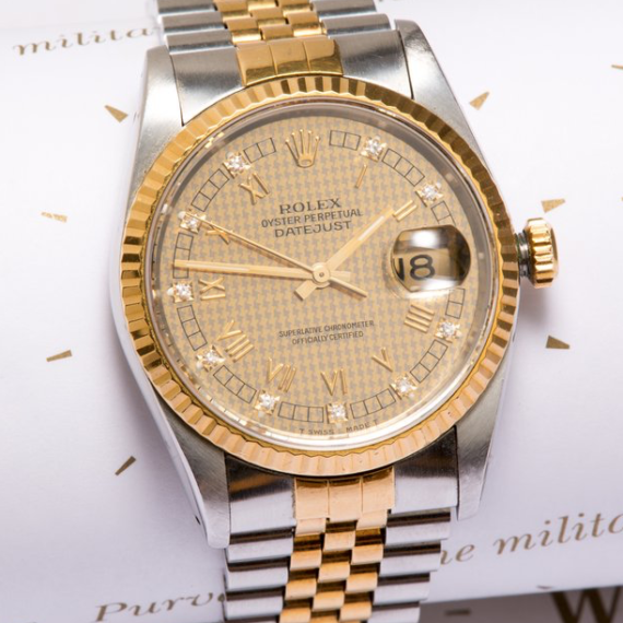 Rolex Datejust Ref. 16233 with Diamonds - Mondani Web
