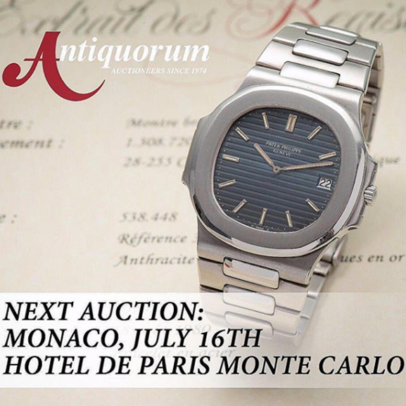 Preview of the Antiquorum Monaco Auction - MondaniWeb