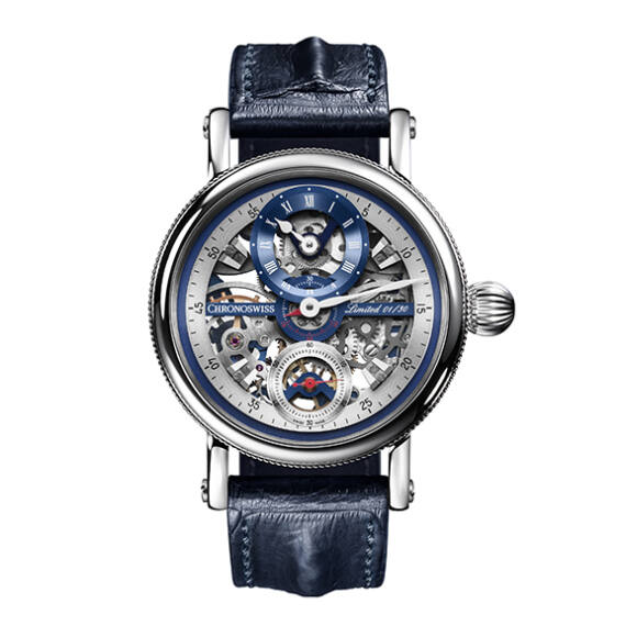Flying Grand Regulator Skeleton CH6723S - Mondani Web