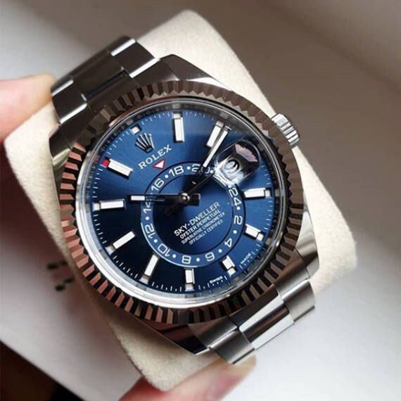 Rolex Sky-Dweller Ref.326934 Blue Dial - Mondani Web