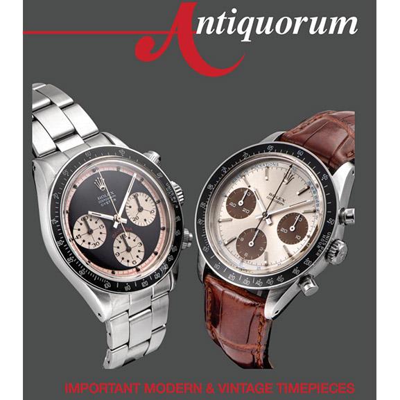 Important Modern & Vintage Timepieces | Antiquorum Live Auction - MondaniWeb