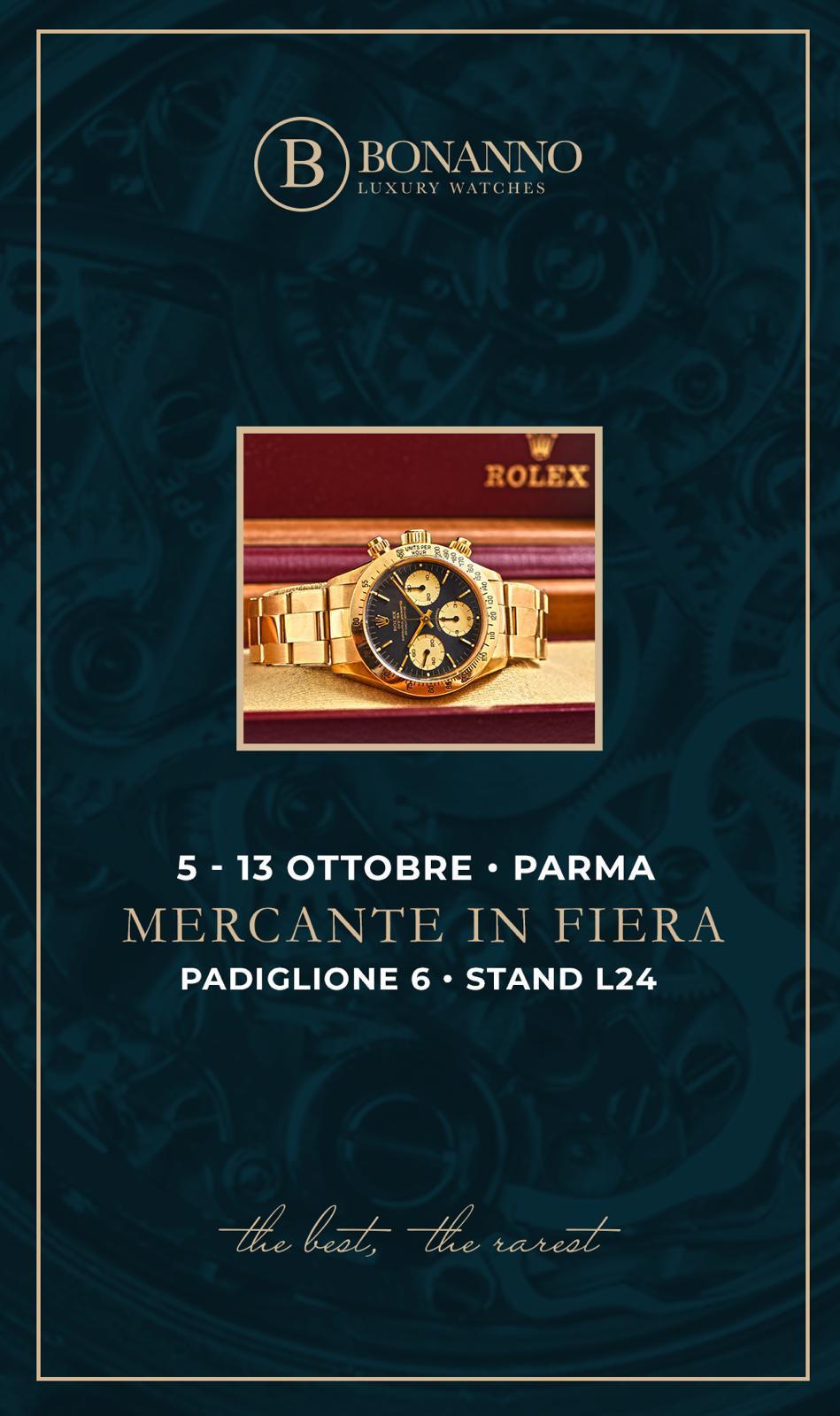 Bonanno Luxury Watches at Mercante in Fiera - MondaniWeb