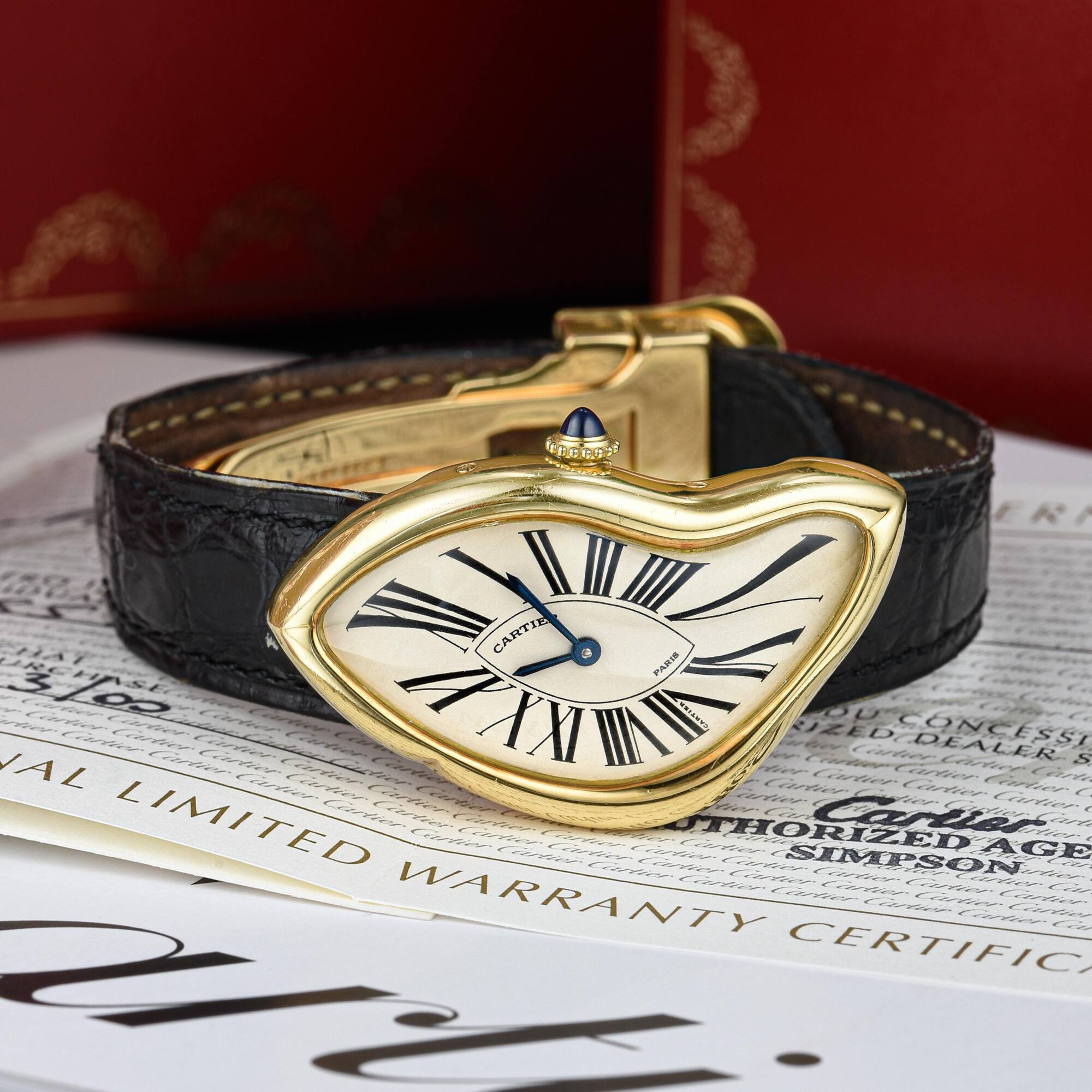 """Fortuna's December """"Important Watches"""" Auction sets record with rare 1991 Cartier Crash - MondaniWeb"""