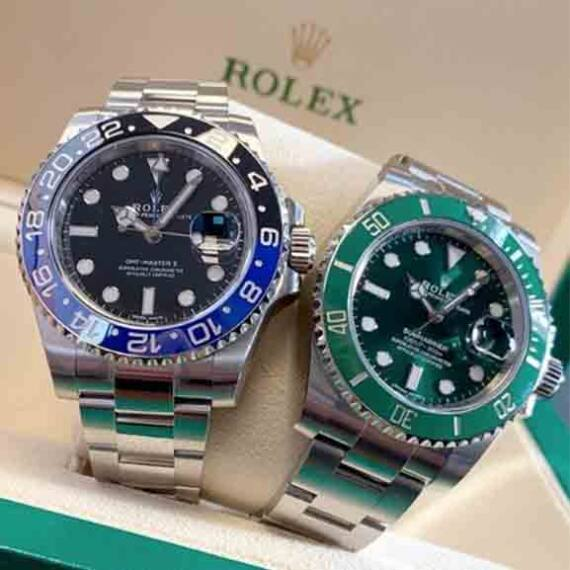 Rolex GMT-Master II & Rolex Submariner - Mondani Web