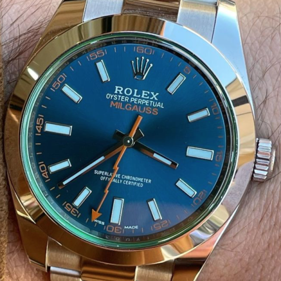 Rolex Milgauss - Mondani Web