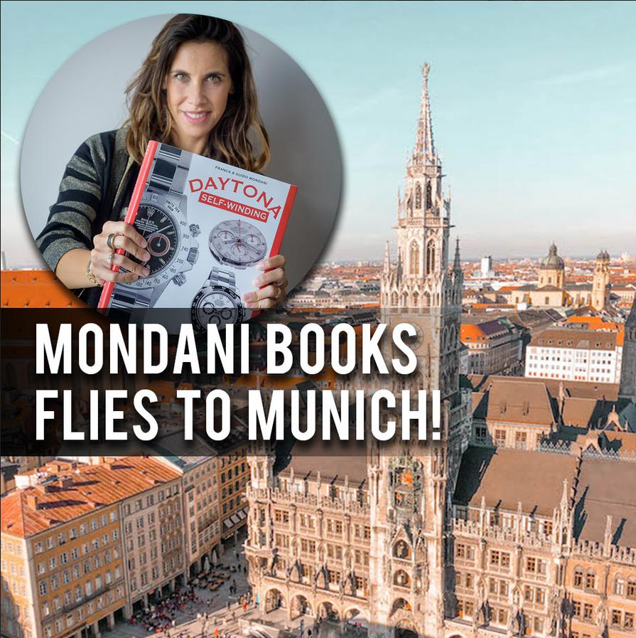 Giorgia Mondani flies to Munich! - MondaniWeb