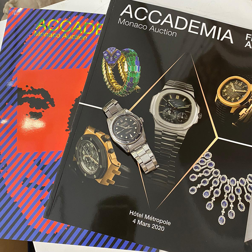 Accademia Fine Art, Live Auction: Watches & Jewels - MondaniWeb