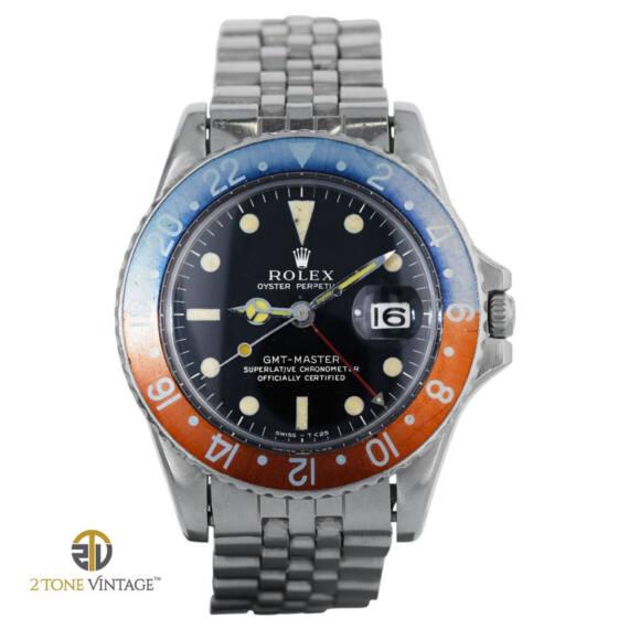 Rolex GMT-Master 1675 Gilt Dial - Mondani Web
