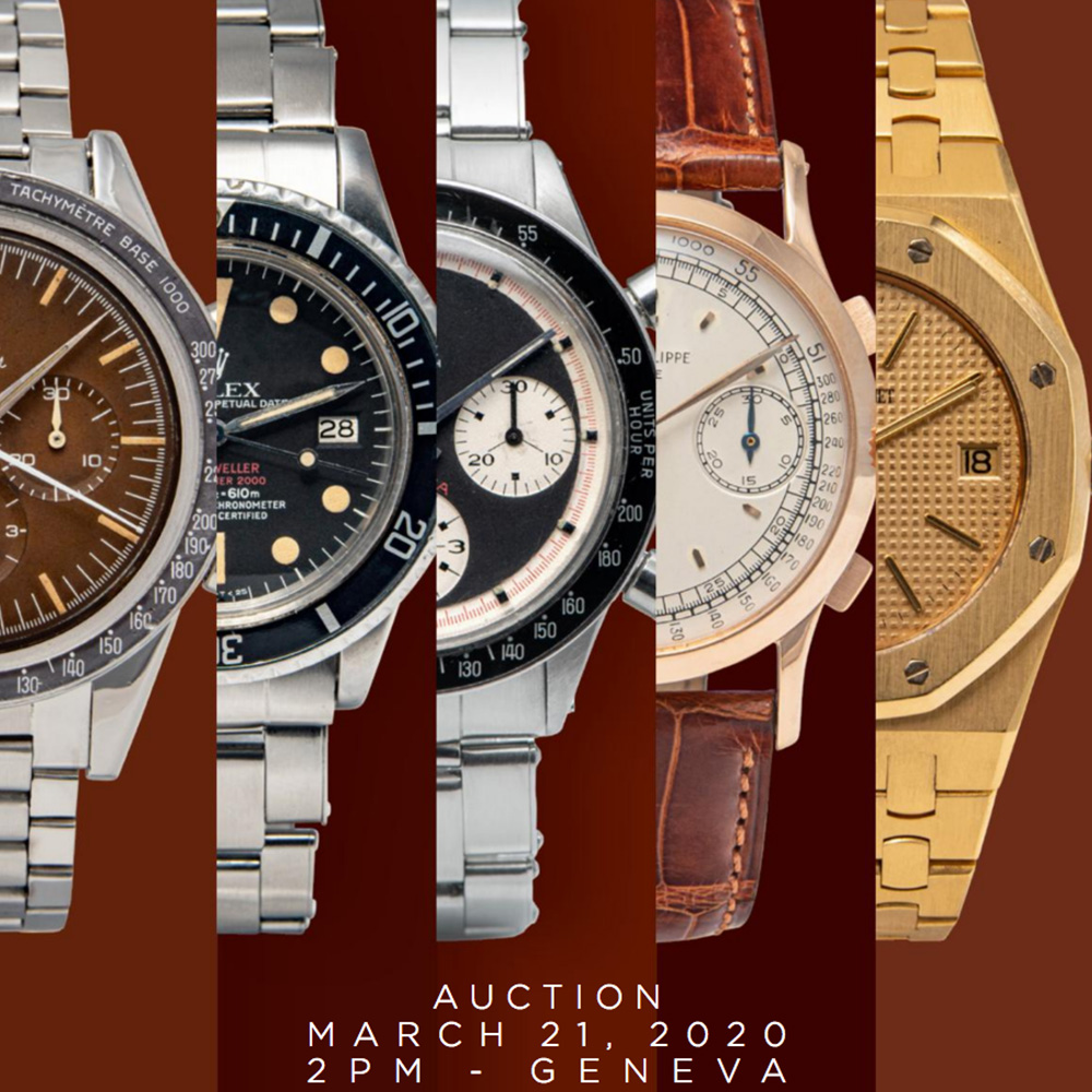 Important Modern & Vintage Timepieces Geneva Auction | Antiquorum - MondaniWeb